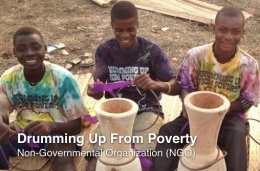 drum up from poverty